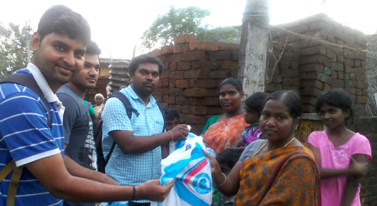 InfoCept's Chennai Team Assists Families Affected by Flooding