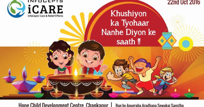 iCARE shares Diwali Joy with children of HCDC