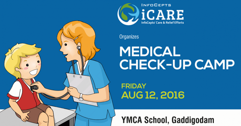 Medical Check-Up Camp Organized