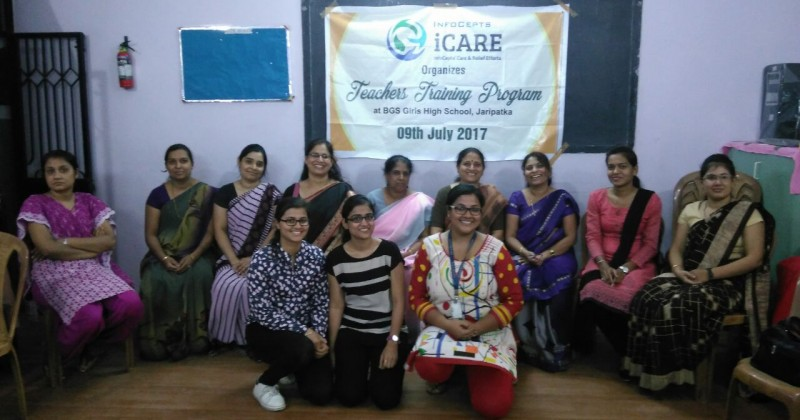 iCARE Imparts Computer Training to BGS School Teachers