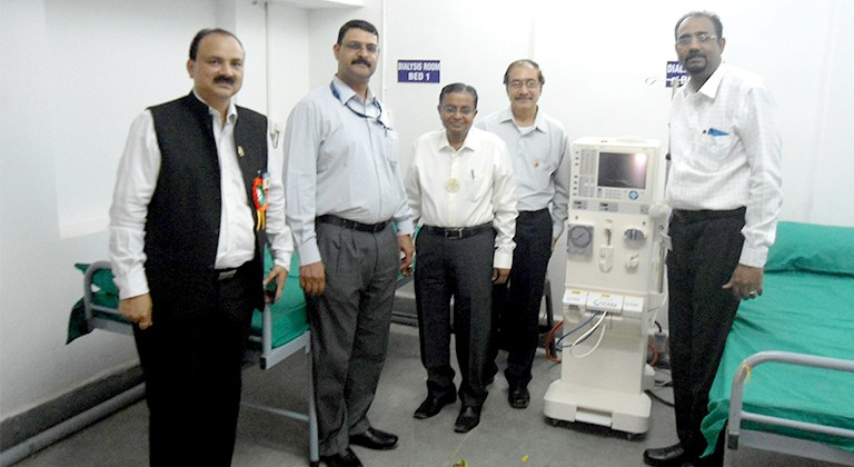 Dialysis Centre Inaugurated