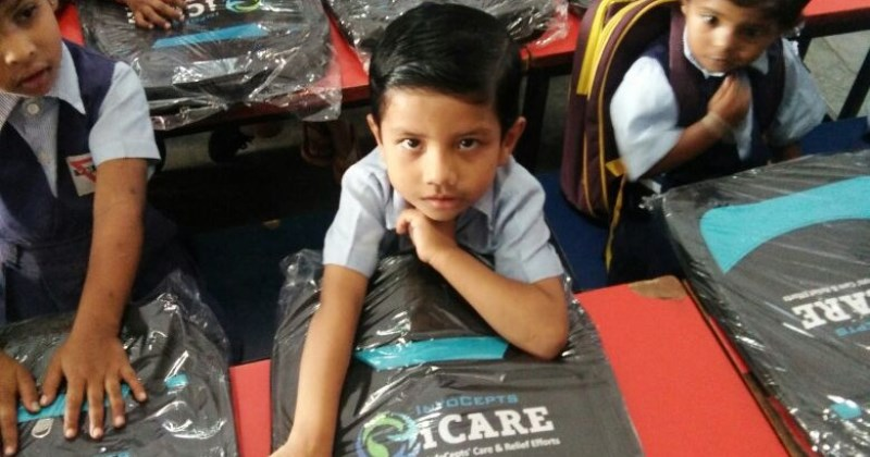 iCARE Promotes Education through School Bags Distribution !!