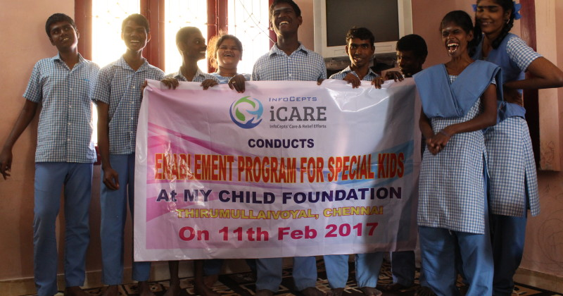 iCARE Extends Its Reach To Chennai By Conducting Enablement Program For Special Kids