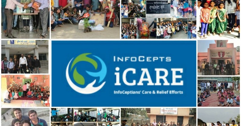 InfoCepts Retreat Teams Successfully Conducts Multiple iCARE Activities !