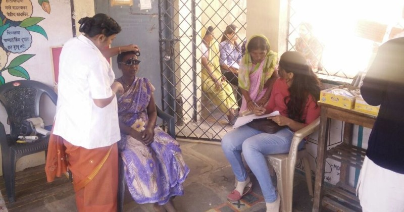 iCARE Successfully Conducts Eye Check-up Camp for the Villagers of Surabardi