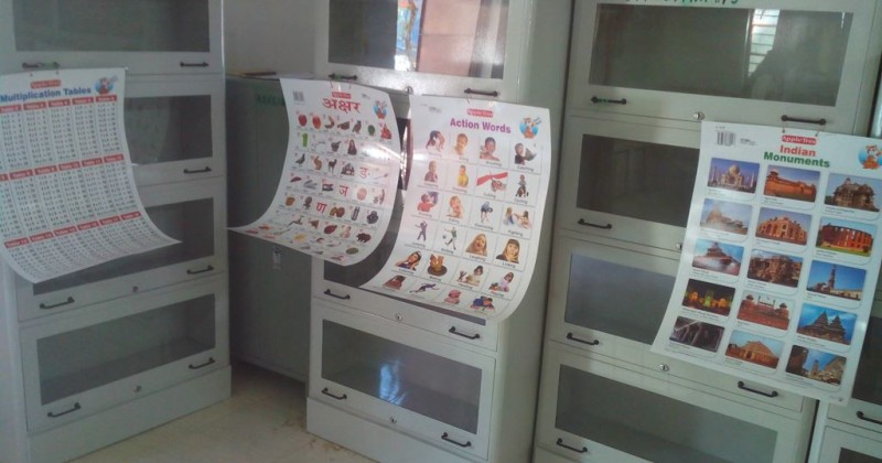 iCARE Strengthens AGV School with Classroom Library Facility !!