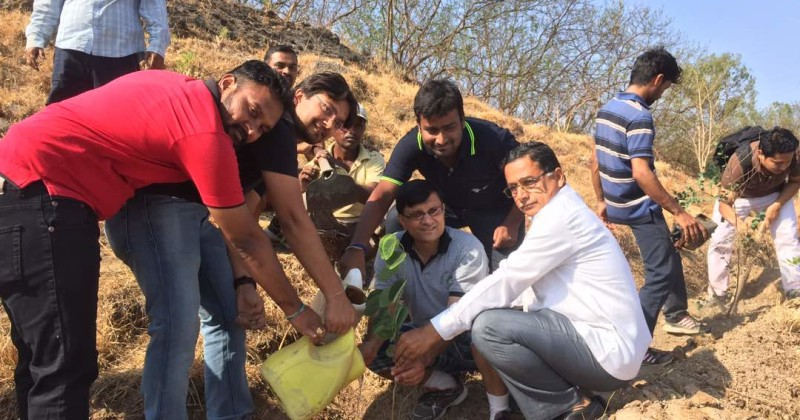 Second Phase of Tree Plantation Activity Completed Successfully at Pune !!