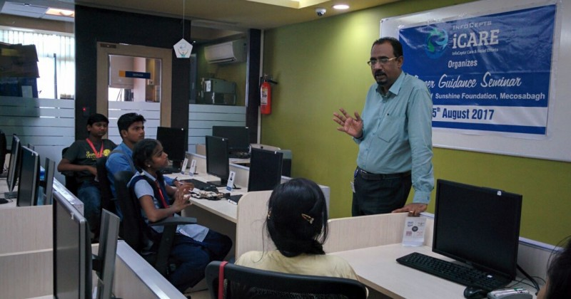 iCARE Conducts Career Guidance Seminar
